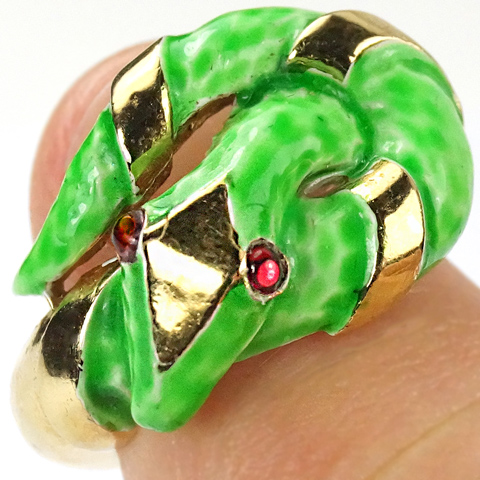 Garden Jewels Gold And Green Topaz Flower Element By La